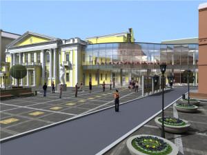 Общий вид здания филармонии