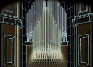 3-D шоу в органном зале