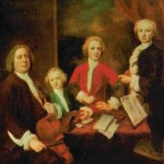 И. С. Бах с сыновьями. Б. Деннер