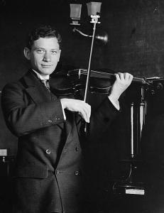 Ефрем Цимбалист, скрипка