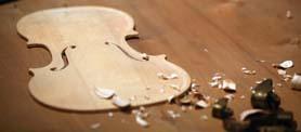 Изготовление скрипки_