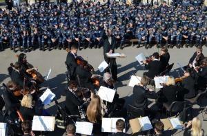 Концерт на день спасателя, полигон МЧС