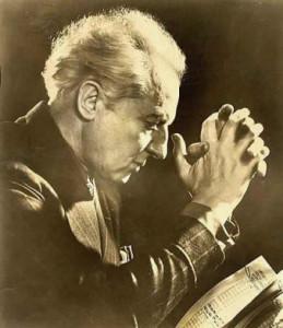 Леопольд Стоковский, дирижер оркестра