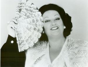 Монсеррат Кабалье, оперная певица
