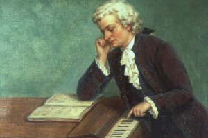 Моцарт, композитор, клавесинист