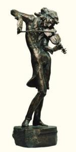 Паганини. Скульптура К.Саркисова