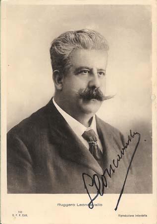 Руджеро-Леонкавалло-автор-оперыПаяцы-фото-с-афтографом-композитора