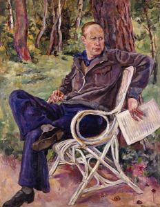 С. Прокофьев, портрет работы С. С. Кончаловского