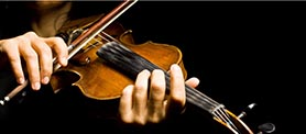 Скрипка, струнно-смычковый инструмент_