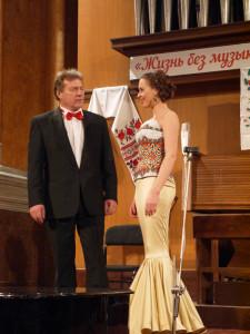 Юлия Радкевич и Михаил Маркович
