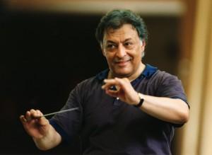 Зубин Мета, дирижер оркестра