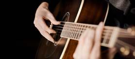 гитара, музыкальный инструмент(www.GdeFon.ru)